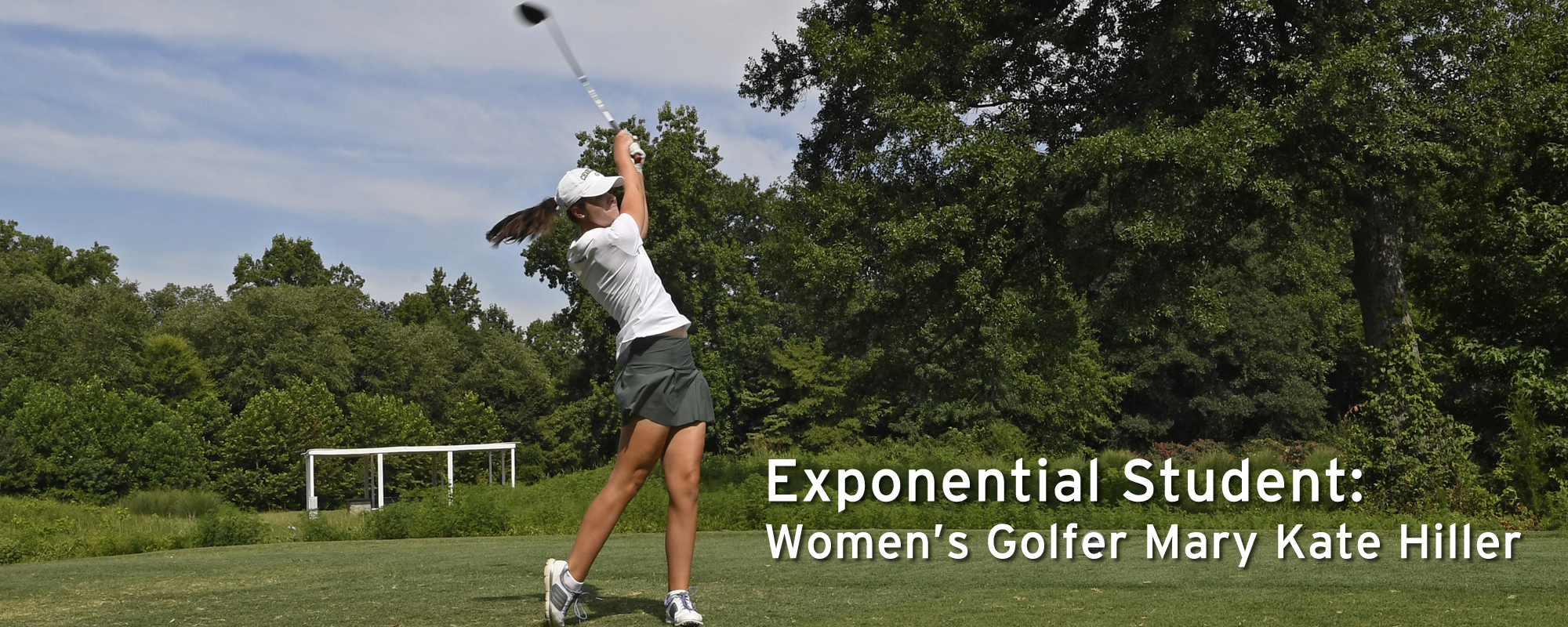 Exponential Student: Women's Golfer Mary Kate Hiller
