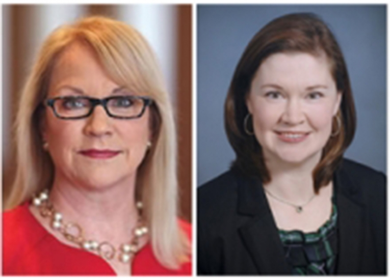 Cathy Bessant and Beth Fischer