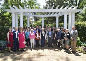 Members of the Bonnie E. Cone Society at Duke Mansion.