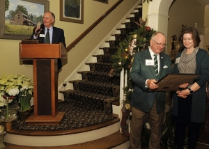 Gene Johnson Receives Order of the Long Leaf Pine